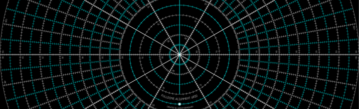 Hi-Res Fulldome Alignment Grid
